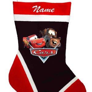 Pixar Cars Personalized Christmas Stockings